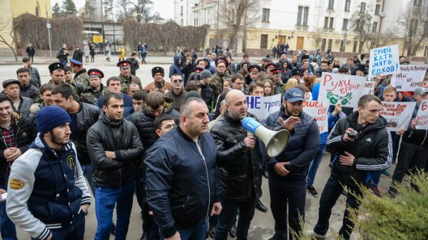 Навальный в Волгограде