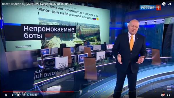 2 апреля Киселев