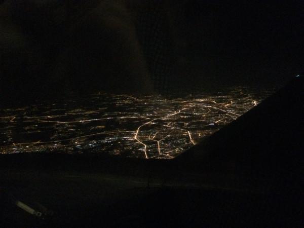 Москва за окном