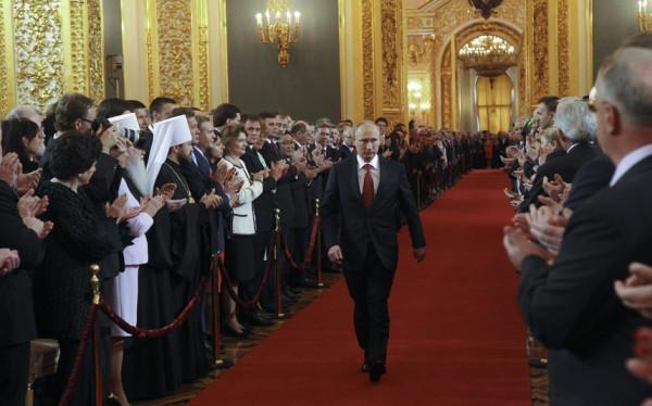 Путин 7 мая 2012