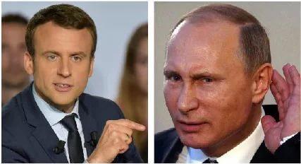 Путин  Макрон