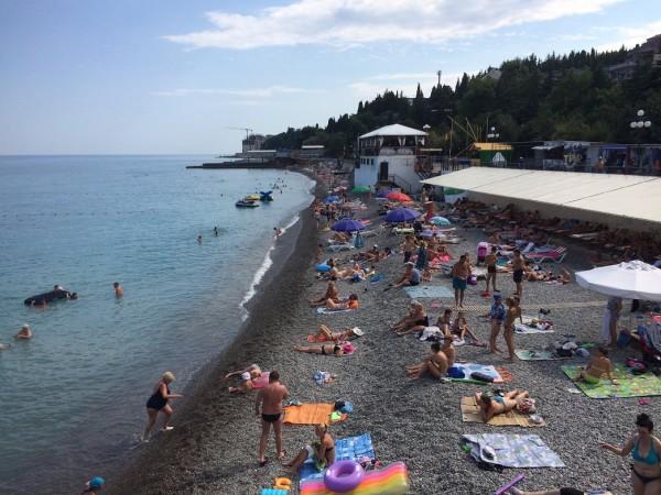 Гурзуф пляж 2 ЖЖ