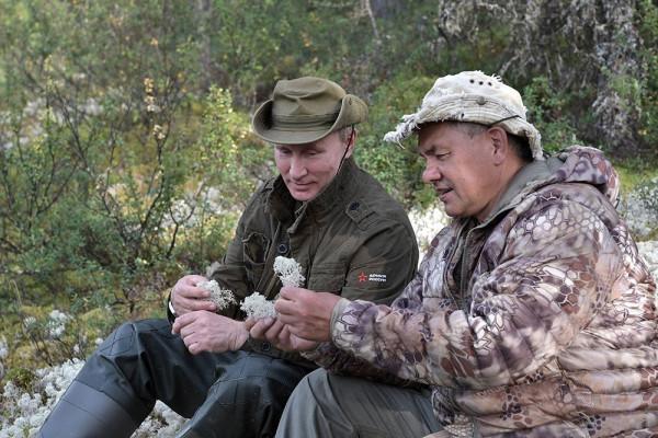 Путин и Шойгу на рыбалке 2
