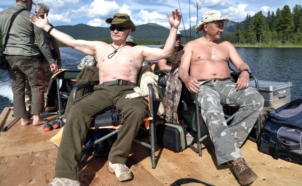 Путин отдыхает 2