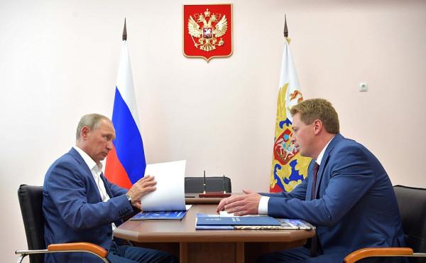 Крым Путин с врио