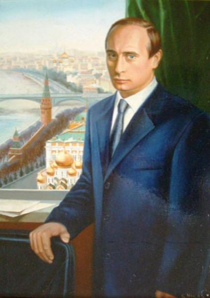 Никас Сафроно Портрет Путина