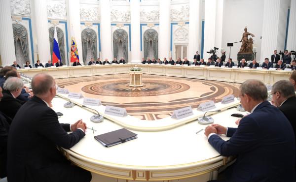 Путин и деловые круги