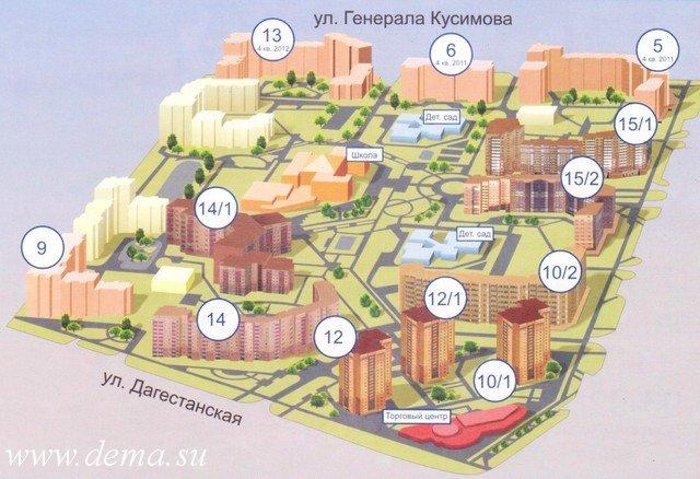 план мкр. 9