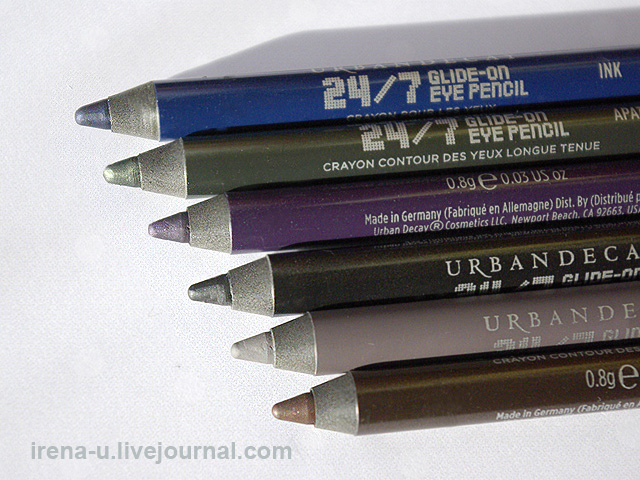 Urban Decay Black Market 24/7 Glide-On Pencil Set отзывы