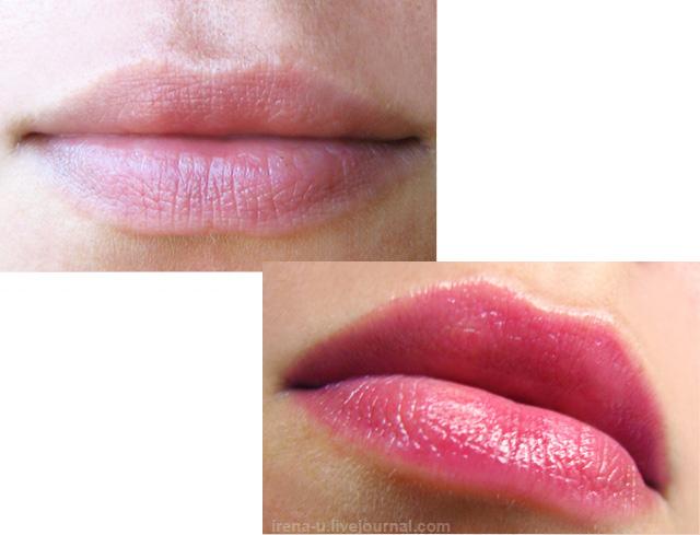 Бальзам-тинт для губ Korres Lip Butter Wild Rose отзывы