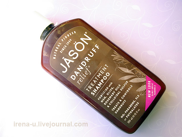Лечебный шампунь Jason Natural, Treatment Shampoo, Dandruff Relief отзыв