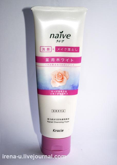 Пенка для умывания с розой Kanebo NAIVE Facial Cleansing Foam (Rose) отзывы