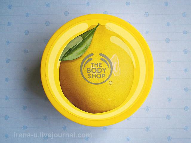 Лимонный баттер для тела The Body Shop Lemon Body Butter
