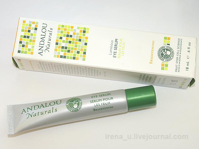 Сыворотка для век Luminous Eye Serum от Andalou Naturals