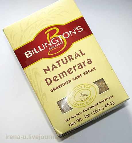Billington's, Natural Demerara, Unrefined Cane Sugar