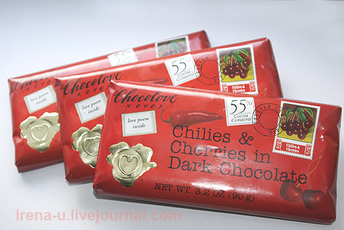 Chocolove, Chilies & Cherries in Dark Chocolate