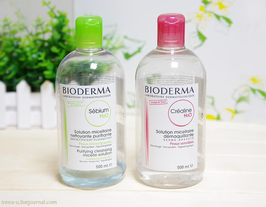 Мицеллярная вода bioderma sensibio подходит даже для снятия водостойкого макияжа, не требует смывания водой.
