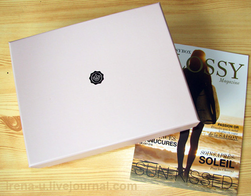 Glossybox aout 2013 review
