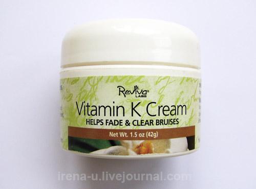 Reviva Labs, Vitamin K Cream