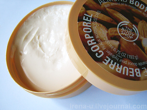 The Body Shop Almond Body Butter отзыв