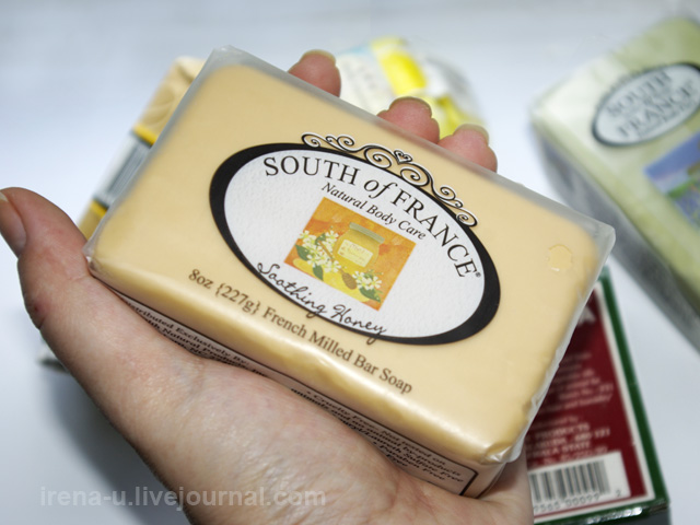 South of France мыло отзывы