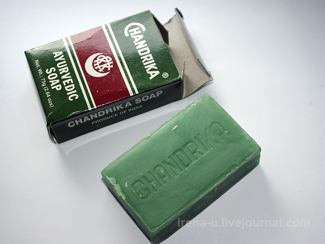 Herbal - Vedic Chandrika, Ayurvedic Soap Bar мыло отзывы