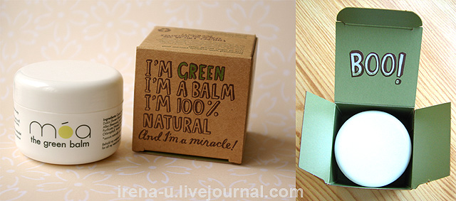 Зеленый бальзам Móa The Green Balm Отзыв