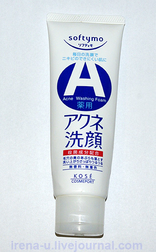 Kose Acne Washing Foam Softymo отзывы
