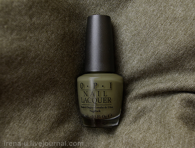 OPI  Uh-Oh Roll Down The Window отзывы свотчи