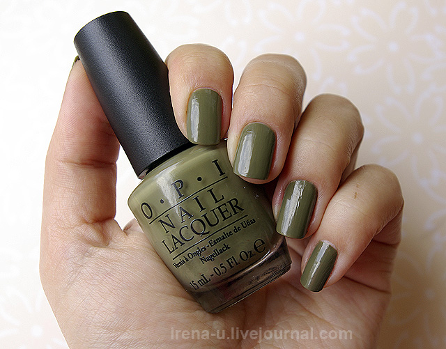 OPI  Uh-Oh Roll Down The Window фото отзывы свотчи