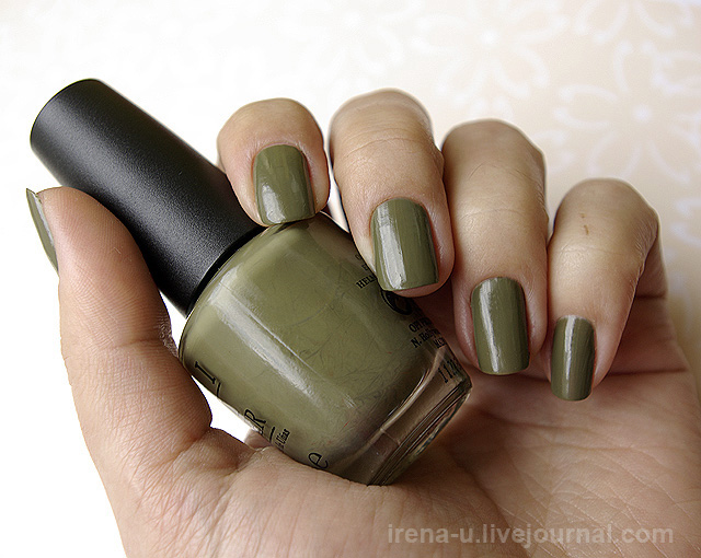OPI  Uh-Oh Roll Down The Window swatches photo Отзывы
