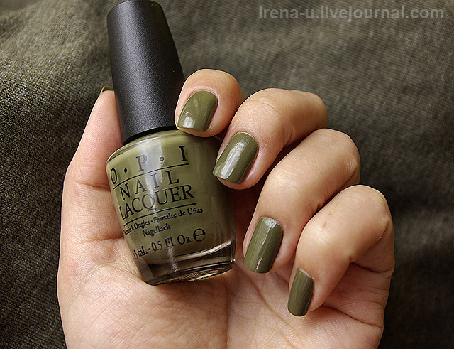 OPI  Uh-Oh Roll Down The Window фото отзывы