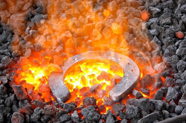 огненный след