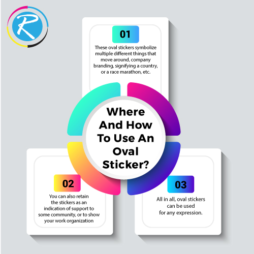 Where And How To Use An Oval Sticker?