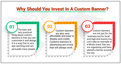 Why Should You Invest In A Custom Banners