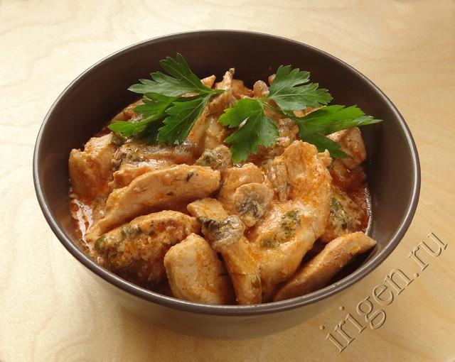 Шашлык из куриного филе в духовке рецепт с фото пошагово 58