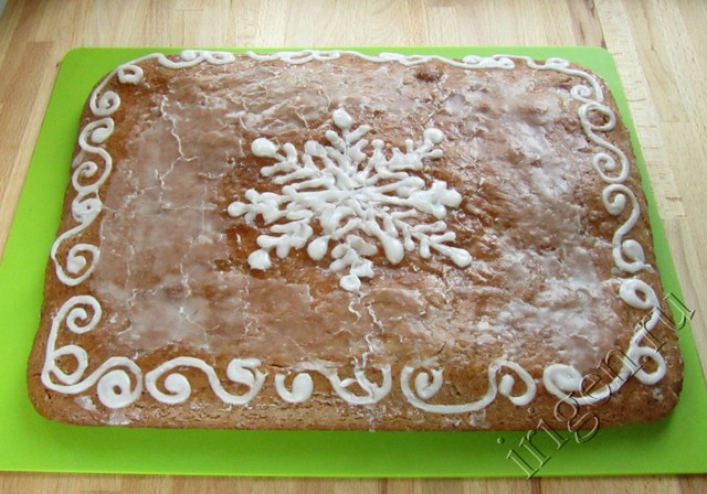 Рецепт пирог из пряников с