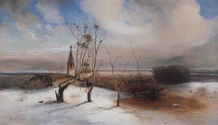 А.Саврасов Грачи. 1871