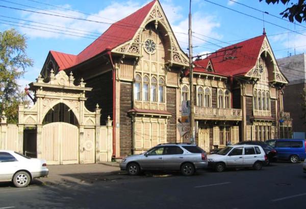 Дом Цукерман (Литер. музей Астафьева)