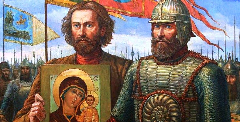 Ф. Москвитин  Минин и Пожарский