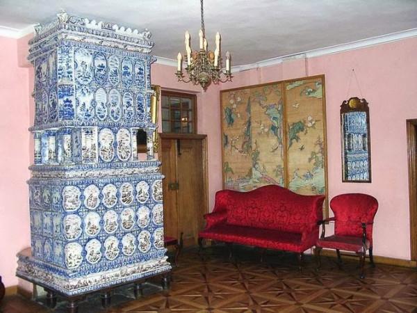 Печь в доме Петра I