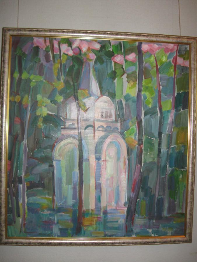 Выставка Лопуховой в СХ 020