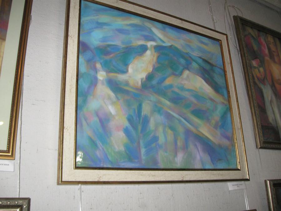 Выставка Лопуховой в СХ 021