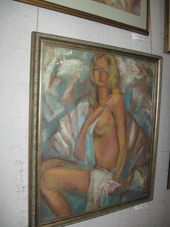 Выставка Лопуховой в СХ 022