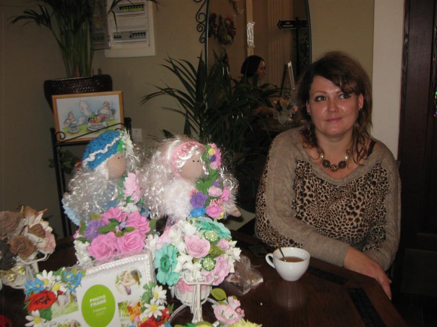 Куклы и сувениры в ресторане Одесса 033