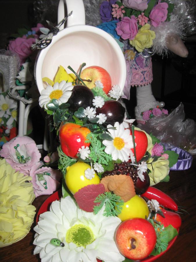 Куклы и сувениры в ресторане Одесса 039