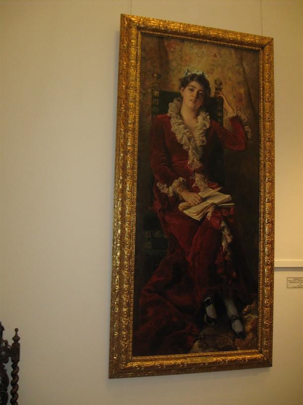 САлонная выставка, Салон о Пушкине 043