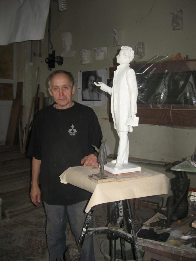 Бунин и Пушкин, портреты в Доме Кузнецова 012