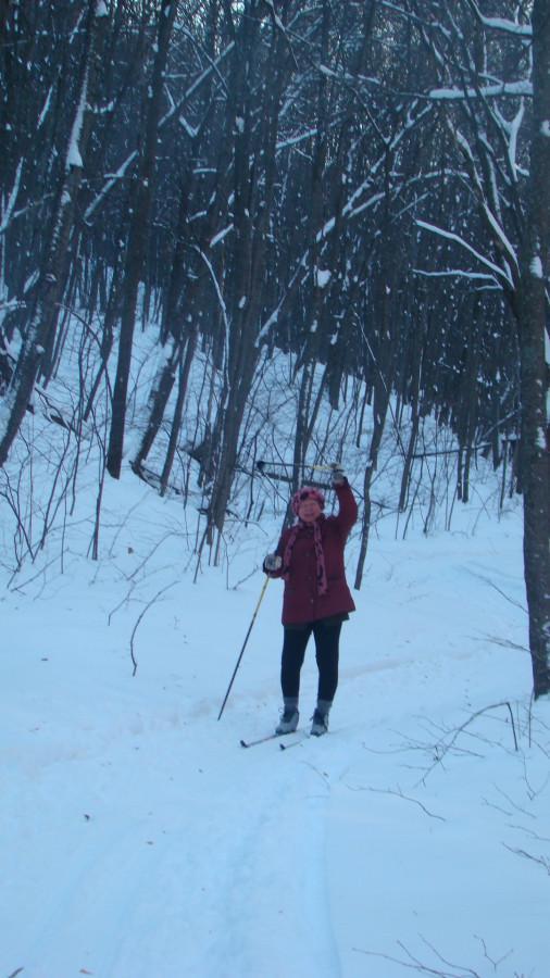 Это я на нормальных креплениях еще в Хвалынских горах