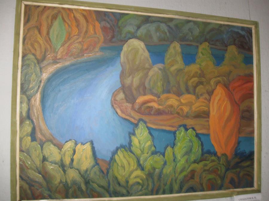 выставка Солдатовых,Рериха 014